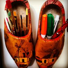 Hey Writers and Artists! Here's a fun way to use shoes from Holland!