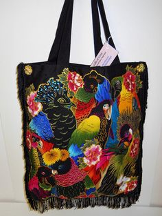 Big #Sale 30 Off Canvas Exotic Birds Of A Feather  by paulagsell, $44.00