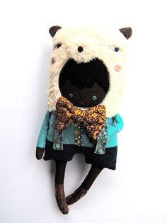 A Bear Boy with Suspenders. via Etsy.