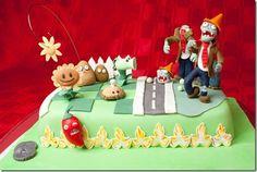 Plants vs. Zombies Cake <3