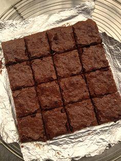 David Leboviz brownies from recipe by Kathryn Hepburn