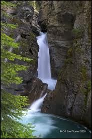 Johnston's Canyon, Alberta. The best place to hike / visit on the weekends.