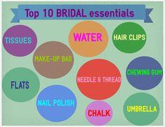 Top 10 bridal essent