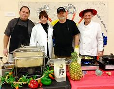 """Teachers & administrators became """"celebrity"""" chefs for the day at Wells Ogunquit Community School District in Maine. Great way to get students excited about school lunch & healthy eating!"""