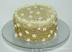 Gâteau à la crème au