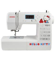 Janome Hello Kitty 18750 Sewing Machine: sewing & quilting machines: sewing machines: sewing: Shop | Joann.com