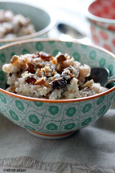 slow cooker coconut rice pudding - gluten free, dairy free