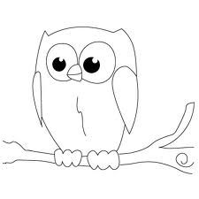 Another cute owl owl draw