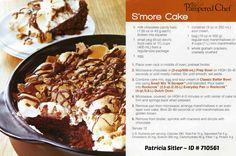 S'mores Cake in the Rockcrok is DELICIOUS!!! rock crock, rockcrock, pamper chef, smore cake, pampered chef smores cake, graham crackers, rockcrok recip, food cakes, dessert