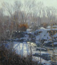 2003-creek_bottom_impression.VALOY EATON Midway Utah artist