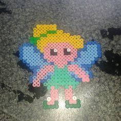 Tinker Bell hama beads by kayleigh-jade