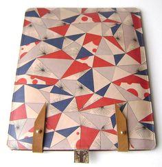 Leather iPad case - Scandinavian style