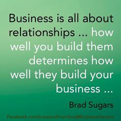 business partner relationship quotes
