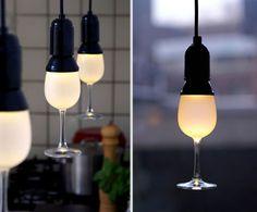 Glassbulb Light!  Unique gift, gift idea, birthday gift, holiday gift, gift for her, gift for him, unique gift ideas