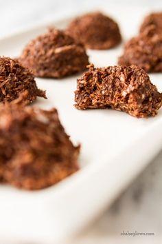 No Bake Chocolate Macaroons