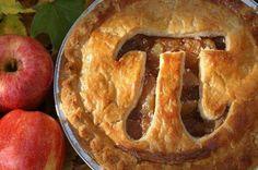 Nerd Pi(e)! #apple #pie #pi