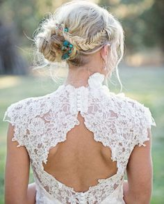 dream dress, fashion dresses, formal dresses, bridal dresses, getting married, dress casual, dress fashion, fishtail braids, lace dresses