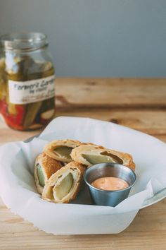 Fried Cheesy Pickles - these are going to have to happen soon.