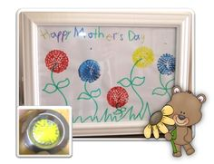 Mother's Day Flowers using metal sink strainers! This is a simple art idea that I have done with preschoolers up to grade two.  http://cleverclassroomblog.blogspot.com.au/p/holidays-and-themes.html