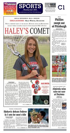 Haley Wentzel of Boyertown School District was named the 2014 All Area Girls Lacrosse Player of the Year. Read more at http://www.gametimepa.com/Sports/ci_26105236/BOYS-LACROSSE:-SpringFord-goalie-Messerle-named-Mercury-AllArea-Player-of-the-Year