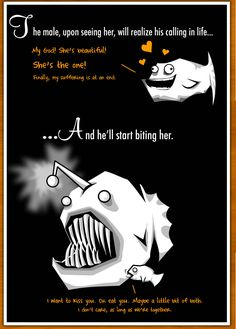 Part 3: How The Male Angler Fish Gets Completely Screwed.