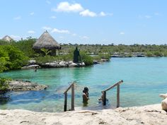 Beautiful snorkling in Yal-Ku, Akumal!  Tons of fish, only cost about $10.
