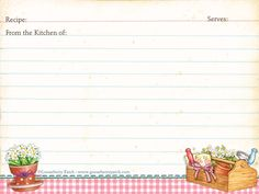 @GooseberryPatch free recipe cards templates