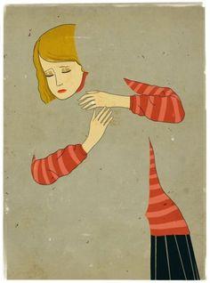 Miss your hugs... memori, negative space, emilianoponzi, emiliano ponzi, thought, writing prompt pictures, the artist, shadows, illustr