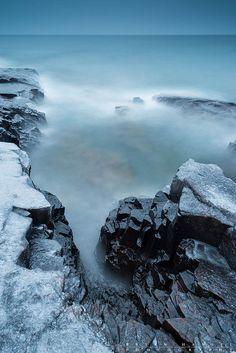 Lake Superior, Artist's Point, Grand Marais, Minnesota.