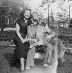 Great old photo of Bobby Bowden, former Florida State Coach and his wife Ann.... posted on Twitter by Bobby Bowden.