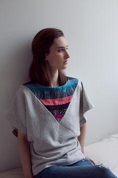 T-shirt Nähen. Free Pdf Pattern. Initaitive Handarbeit