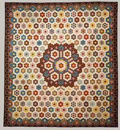 Elizabeth Van Horne Clarkson: Honeycomb quilt (23.80.75) | Heilbrunn Timeline of Art History | The Metropolitan Museum of Art