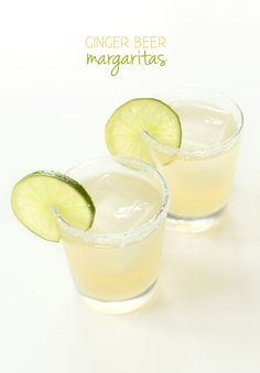 Ginger Beer Margaritas