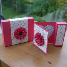 gift boxes, card incopor, coordin gift, boxtreat holder, gift cards