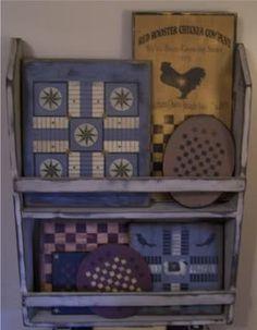 DIY Build your own primitive bowl rack