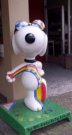 Santa Rosa Snoopy