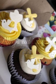 Easter or First Communion Cupcakes
