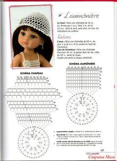 Схемы вязания на куклу паола рейна 43