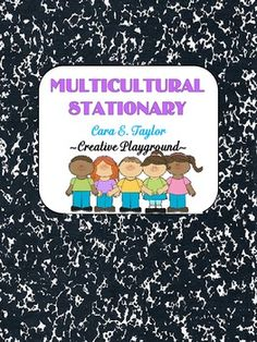 FEEBIE! Black History Month~ Multicultural Stationary- Pinned by SOS Inc. Resources @sostherapy http://pinterest.com/sostherapy.