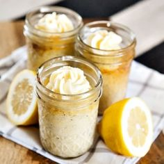 We're big fans of lemon coconut cupcakes - so we decided to package them up in mason jars with calligraphy hang tags!