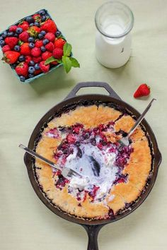The Best Berry Cobbler You'll Ever Have