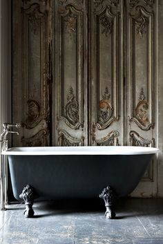 baths, interior, the doors, dream, bathtub, clawfoot tubs, bathroom, antiques, antique doors