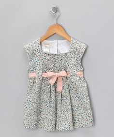 Take a look at this Floral Magnolia Pleated Top - Toddler by Cavelle Kids & Eternal Creation on #zulily today!