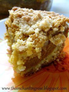 Divine Pumpkin Crumble Cake