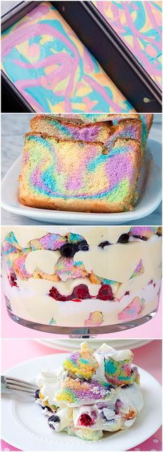 cake rainbow cake in a jar rainbow cheesecake double rainbow pudding ...