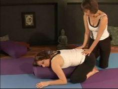 Learn Restorative Yoga Poses : Balasana (Childs Pose) Restorative Yoga