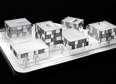 Schwäbisch Media / Wiel Arets Architects Maqueta, architectural model