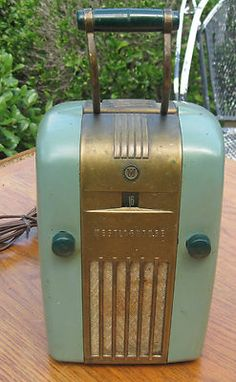 It's an old retro-style radio