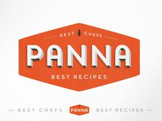 Panna logo by Kelli Anderson