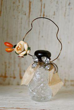 salt shaker fall ornament. Tiedupmemories